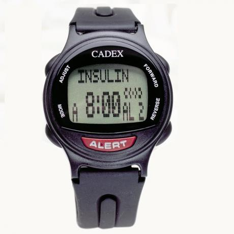 Cadex Watch and Databank - all black