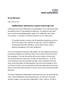 Press Release - Staffordshire pharmacies project improving lives - Date 28 March 2011